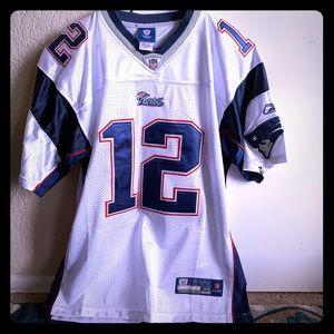 Men's Medium Tom Brady NE Patriots jersey
